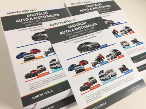 Produktové letáky BARTH GO pro Autocentrum BARTH a.s.