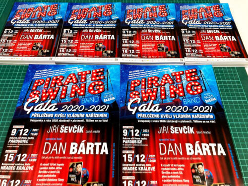 Pirate Swing Gala 2021 - Letáky A5 a A4
