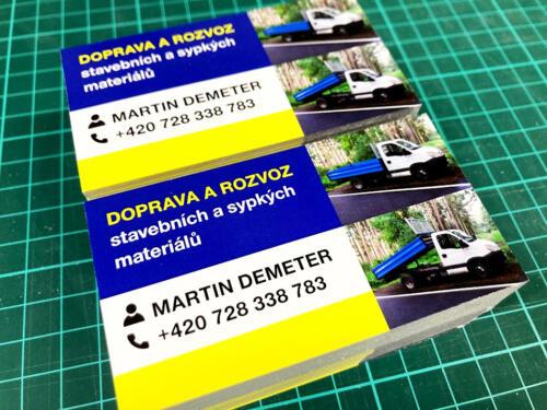 Vizitky Doprava Martin Derner
